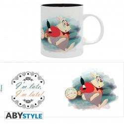 Mug / Tasse - Disney - Alice aux pays des Merveilles - En retard - 320 ml - ABYstyle
