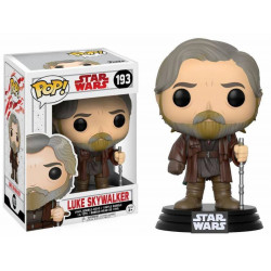 Figurine - Pop! Movies - Star Wars 8 - Luke Skywalker - Vinyl - Funko