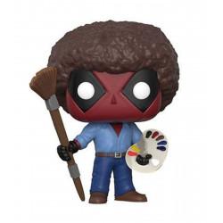 Figurine - Pop! Marvel - Deadpool - Bob Ross Deadpool - Vinyl - Funko