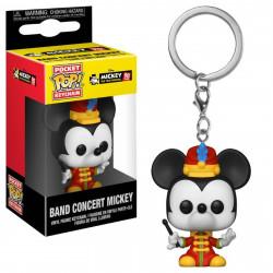 Porte-clé - Pocket Pop! Keychain - Disney - Mickey's 90th - Band Concert - Funko