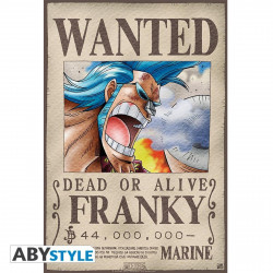 Poster - One Piece - Wanted Franky - 52 x 35 cm - ABYstyle