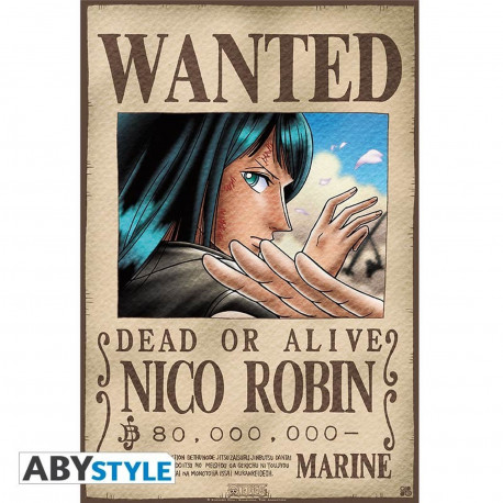 Poster - One Piece - Wanted Robin - 52 x 35 cm - ABYstyle