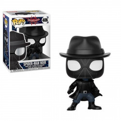 Figurine - Pop! Marvel - Spider-Man Animated - Spider-Man Noir - Vinyl - Funko