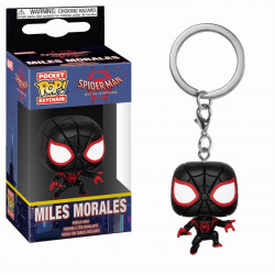 Porte-clé - Pocket Pop! Keychain - Spider-Man Animated - Miles Morales - Funko