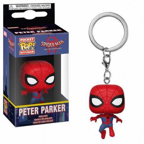 Porte-clé - Pocket Pop! Keychain - Spider-Man Animated - Peter Parker - Funko