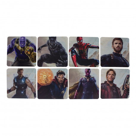 Sous-Verres - Marvel - Avengers Infinity War - Paladone Products