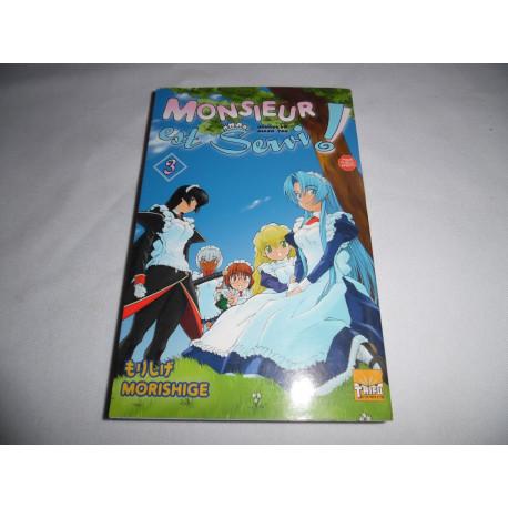 Manga - Monsieur est Servi - No 3 - Morishige - Taifu