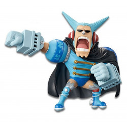Figurine - One Piece - WCF Mugiwara56 vol 2 - Franky - Banpresto