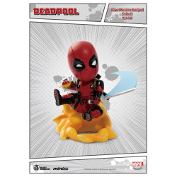 Figurine - Marvel - Mini Egg Attack - Deadpool - Ambush - Beast Kingdom Toys