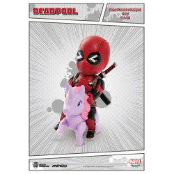 Figurine - Marvel - Mini Egg Attack - Deadpool - Pony - Beast Kingdom Toys