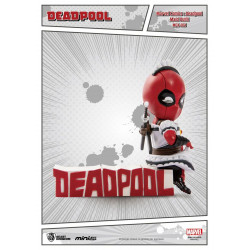 Figurine - Marvel - Mini Egg Attack - Deadpool - Servant - Beast Kingdom Toys