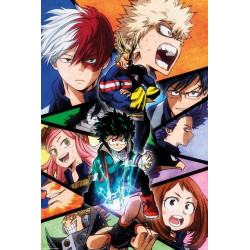 Poster - My Hero Academia - Characters - 61 x 91 cm - GB eye