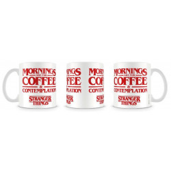 Mug / Tasse - Stranger Things - Coffee and Contemplation - Pyramid International