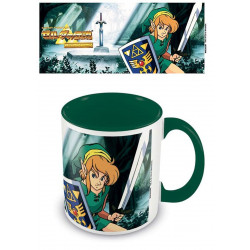 Mug / Tasse - The Legend of Zelda - Coloured Inner The Lost Woods - Pyramid International