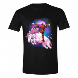 T-Shirt - Marvel - Deadpool - Space Unicorn - PCM