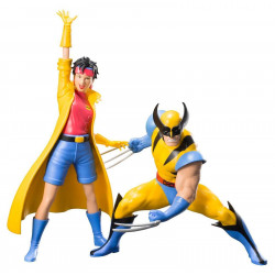 Figurine - Marvel - X-Men - Wolverine and Jubilee - ARTFX+ - Kotobukiya