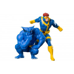 Figurine - Marvel - X-Men - Cyclops and Beast - ARTFX+ - Kotobukiya