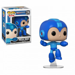 Figurine - Pop! Games - Mega Man - Jumping Megaman - Vinyl - Funko