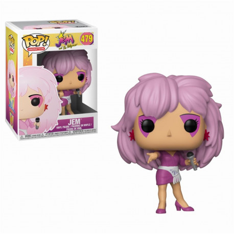 Figurine - Pop! Animation - Jem and the Holograms - Jem - Vinyl - Funko