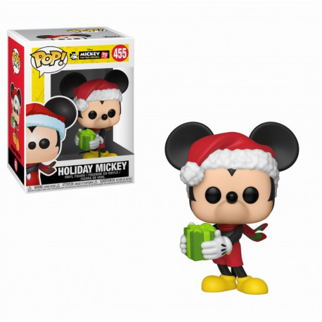 Figurine - Pop! Disney - Mickey's 90th - Holiday Mickey - Vinyl - Funko