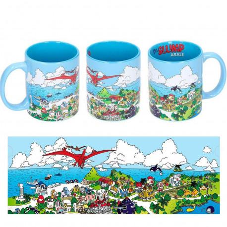 Mug / Tasse - Dr Slump - Penguin Village - 33 cl - SD Toys