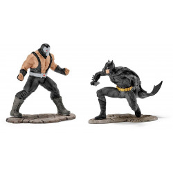 Figurine - Justice League - Coffret Batman vs Bane - Schleich