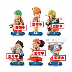 Figurine - One Piece - WCF Japanese Style - 6 modèles - Banpresto