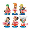 Figurine - One Piece - WCF Japanese Style - 6 modèles - Banpresto