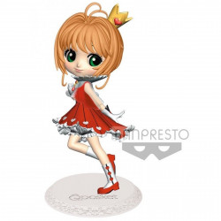 Figurine - Cardcaptor Sakura - Q Posket - Sakura Kinomoto Normal Color Ver - Banpresto