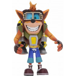 Figurine - Crash Bandicoot - Deluxe Crash with Jetpack - 14 cm - NECA