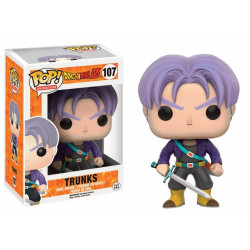 Figurine - Pop! Animation - Dragon Ball Z - Trunks - Vinyl - Funko