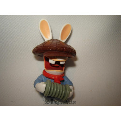 Figurine - Les Lapins Crétins - Conquièrent le Monde - Argentine