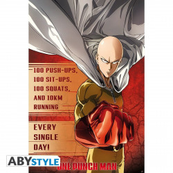 Poster - One Punch Man - Entrainement - 91.5 x 61 cm - ABYstyle