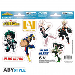 Stickers - My Hero Academia - UA High School - 2 planches de 16x11 cm - ABYstyle