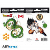 Stickers - Dragon Ball Z - DBZ / Shenron - 2 planches de 16x11 cm - ABYstyle