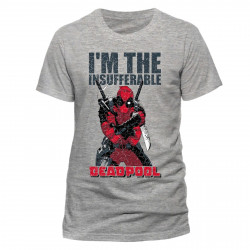 T-Shirt - Marvel - Deadpool - I'm the Insufferable - CID