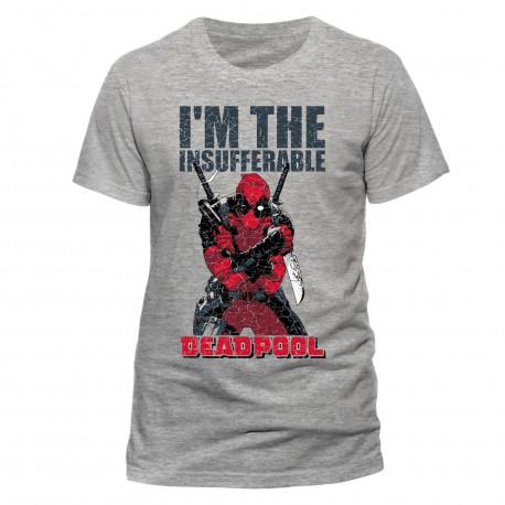 T-Shirt - Marvel - Deadpool - I'm the Insufferable - CID