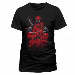 T-Shirt - Marvel - Deadpool - Pose Splash - CID