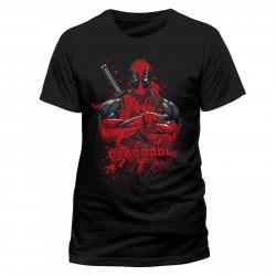 T-Shirt - Marvel - Deadpool - Pose Splash - CID
