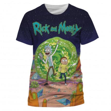 T-Shirt - Rick & Morty - Jumbo Portal - CID