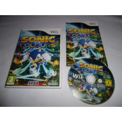 Jeu Wii - Sonic Colours