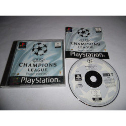 Jeu Playstation - UEFA Champions League Saison 2000/2001 - PS1