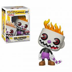 Figurine - Pop! Games - Cuphead - Evil Cuphead - Vinyl - Funko
