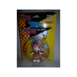 Figurine - Sonic the Hedgehog - Mini Figure series 2 - Amy Rose - First 4 Figure