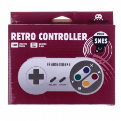 Accessoire - Super Nintendo - Manette SNES - Freaks and Geeks