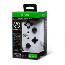 Accessoire - Xbox One - Manette Xbox One blanche - Power A