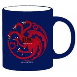 Mug / Tasse - Game of Thrones - Targaryen bleu - 33 cl - SD Toys
