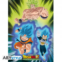 Poster - Dragon Ball - Broly vs Goku Vegeta - 52 x 38 cm - ABYstyle