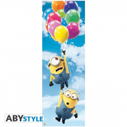 Poster - Minions - Ballons - 53 x 158 cm - ABYstyle