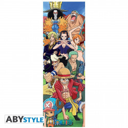 Poster de porte - One Piece - Equipage - 53 x 158 cm - ABYstyle